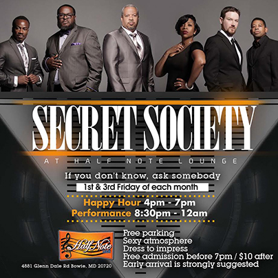 Secret Society at Half Note