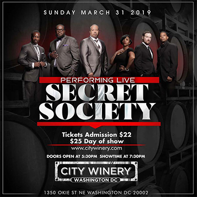 City Winery flyer