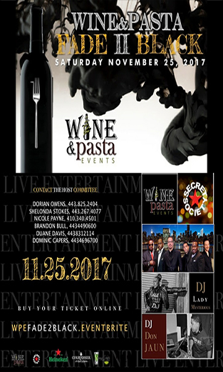 Wine and Pasta Event